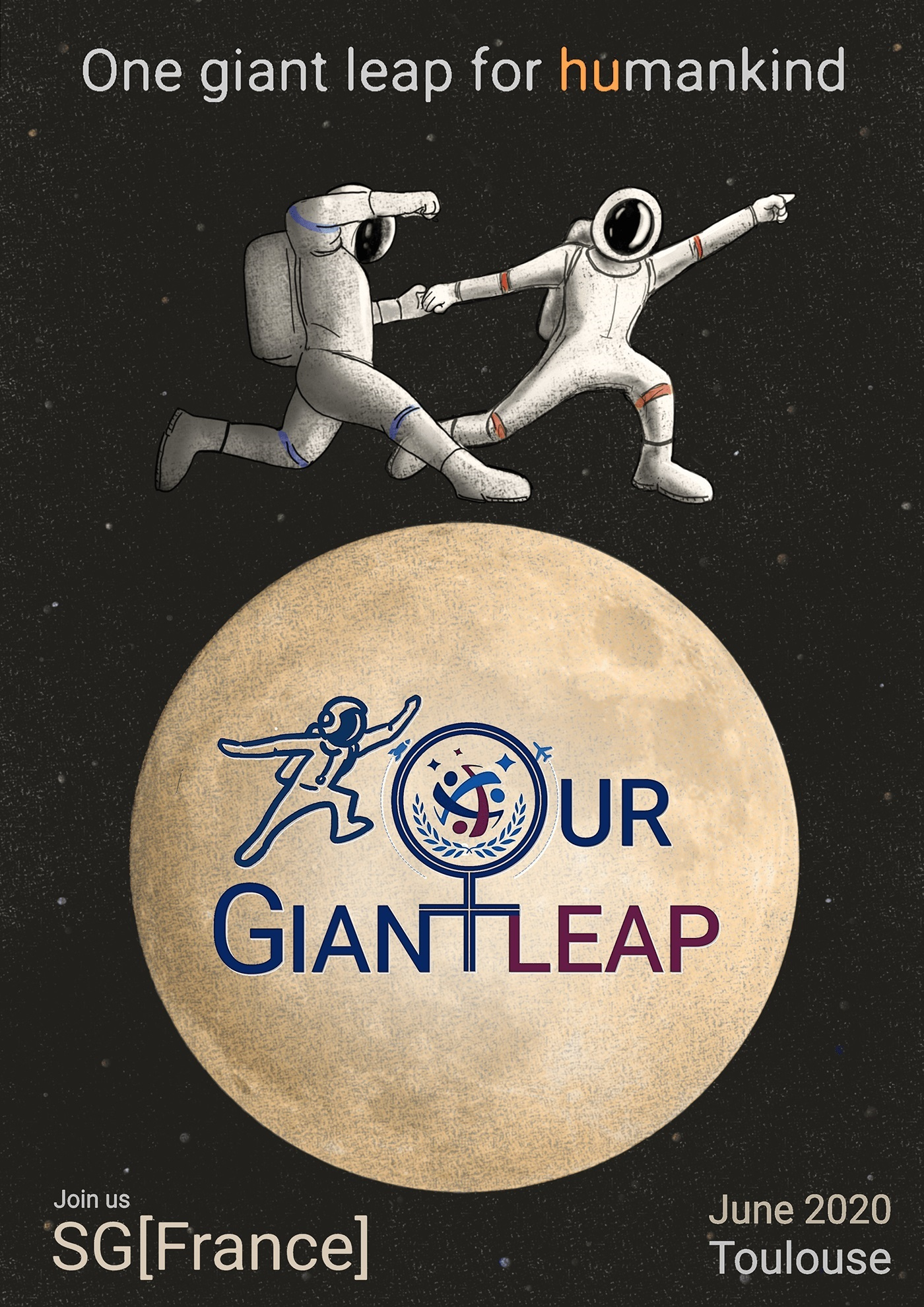 Our Giant Leap poster